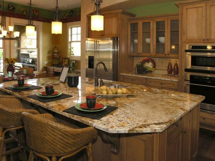 Kuchnia w stylu prowansalskim galeria projekt kuchni i for Beautiful l shaped kitchens