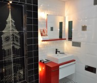 Zdjęcie Nr 3 łazienka W Kolorze Bieli I Czerni Galeria